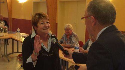 Liliane Ansart, nouvelle conseillère communale