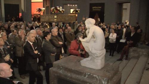 """Inauguration de l'expo """"Les Amis de la Cathédrale"""" au musée des Beaux-Arts"""