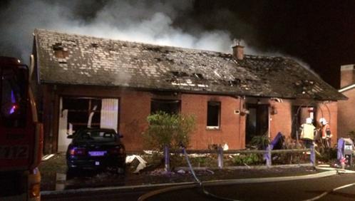 Un homme perd la vie dans un incendie à Bruyelle