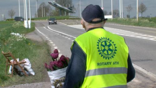 L'opération tulipes du Rotary d'Ath bat son plein