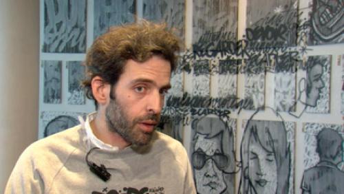 Vernissage de l'exposition de Denis Meyers à Bruxelles