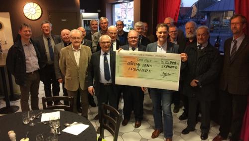Le Rotary offre 5.000€ à Hôpitaux Sans Frontières