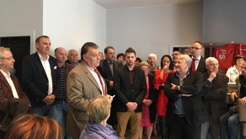 Roger Vanderstraeten sera tête de liste PS à Bernissart et également présent sur la liste provinciale