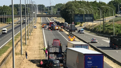 Un chauffeur de poids-lourd décède dans un accident sur l'A17