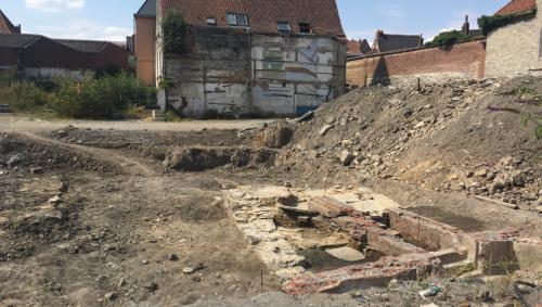 Les fouilles ont repris sur l'ancien site du cinéma Palace