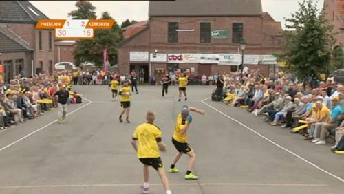 Finale du championnat de Belgique de balle pelote