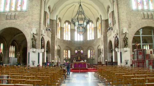 Grand jeu dans la cathédrale de la Lys
