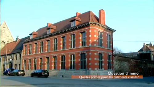 Question d'Immo - Les bâtiments classés