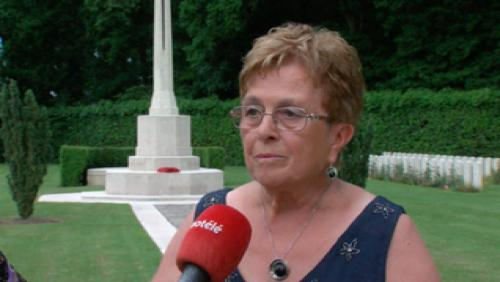 Ploegsteert, lecture de lettres de soldats disparus durant 14-18