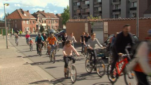 A Rumes, des milliers de cyclistes au Beau Vélo de RAVeL