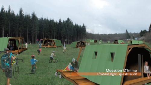 Question d'Immo - L'habitat léger, que dit la loi?