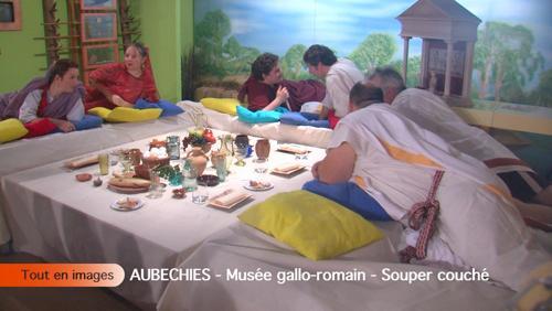 Museée gallo-romain - Souper couché