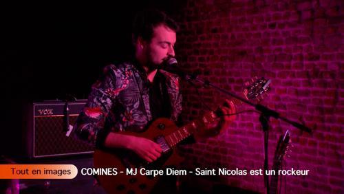 MJ Carpe Diem - Saint Nicolas est un rockeur
