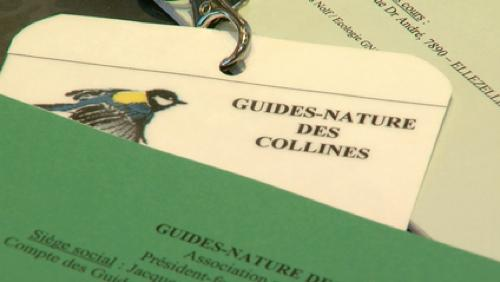 Cours de guides nature au Pays des Collines