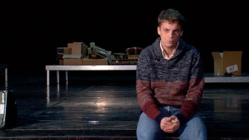 """Première du spectacle de Guillaume Ledent """"Le mot dit"""" à Tournai"""