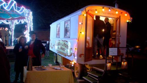 La magie de Noël en roulottes