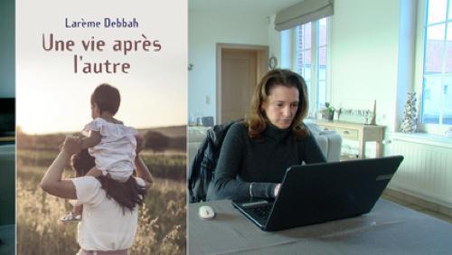 Portrait de l'écrivaine Larème Debbah