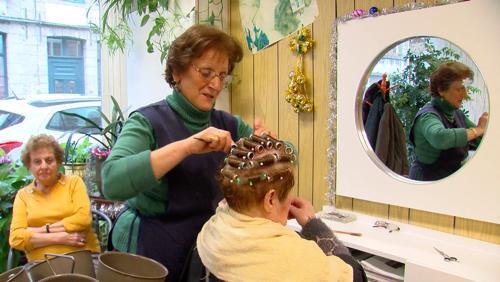 Christiane François, coiffeuse depuis 58 ans à Saint Brice