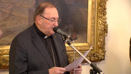 L'évêque de Tournai présente ses voeux