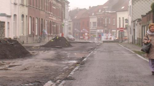 Rue des bastions : terres polluées !