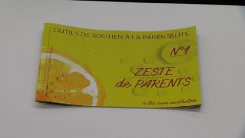 Zeste de parent: un outil de soutien à la parentalité