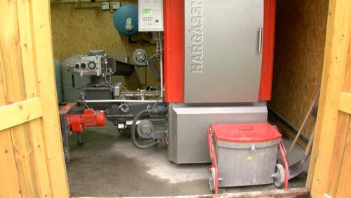 Le Moulin de la Hunelle se chauffe grâce à ses déchets verts