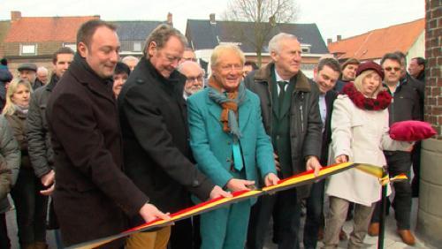 Inauguration de la rue de la nouvelle cure