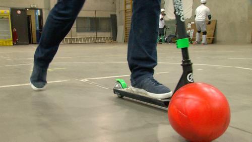 Le Trotti-Foot: un nouveau sport inventé chez nous