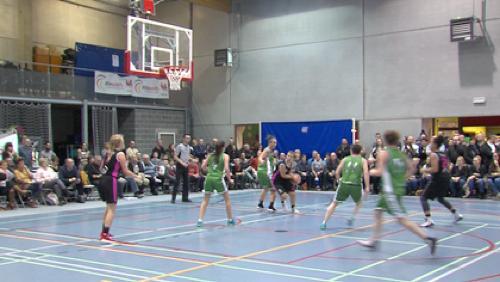 Le Basket Brunehaut en finale de la Coupe du Hainaut