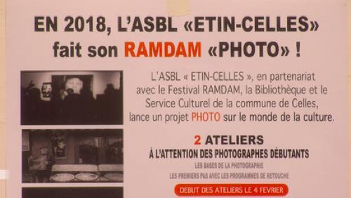 En 2018, Etin-celles fait son Ramdam photo
