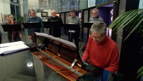 L'Ensemble Vocal au Tournai Jazz Festival
