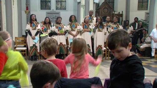La fête s'invite à l'église avec une messe africaine
