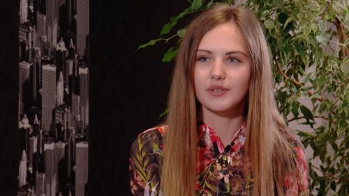 Marie Van Den Bossche, finaliste à Top Model Belgium