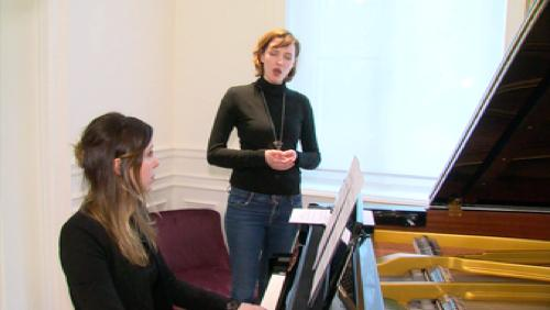 Un concert de St Valentin avec un joli duo de Julies