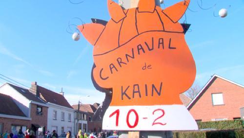 Pluie de confettis et soleil radieux pour le carnaval de Kain