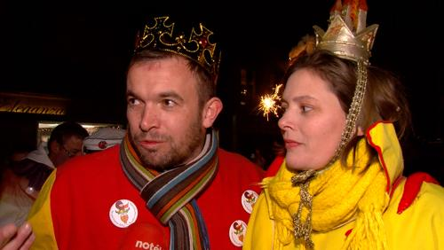 Le roi et la reine carnaval ont été élus !