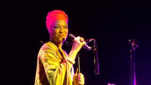 Lisa Simone au Tournai Jazz: Interview intégrale