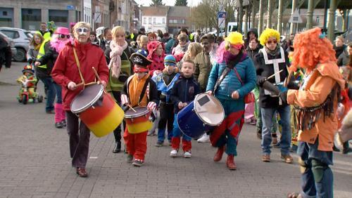 Carnaval des enfants à Péruwelz