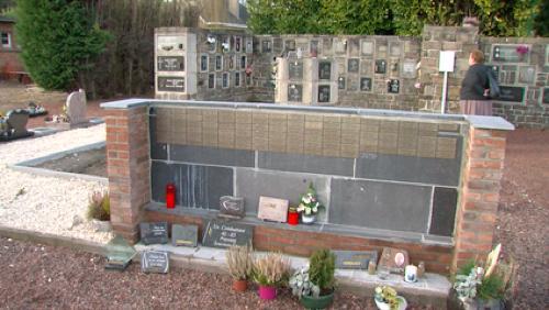 Les cendres des défunts ont disparu du cimetière