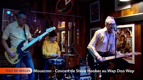 Mouscron - Wap doo Wap - Concert de Steve Hoocker