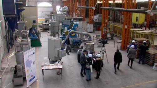 Le CTP a mis au point un broyeur pour les matériaux composites