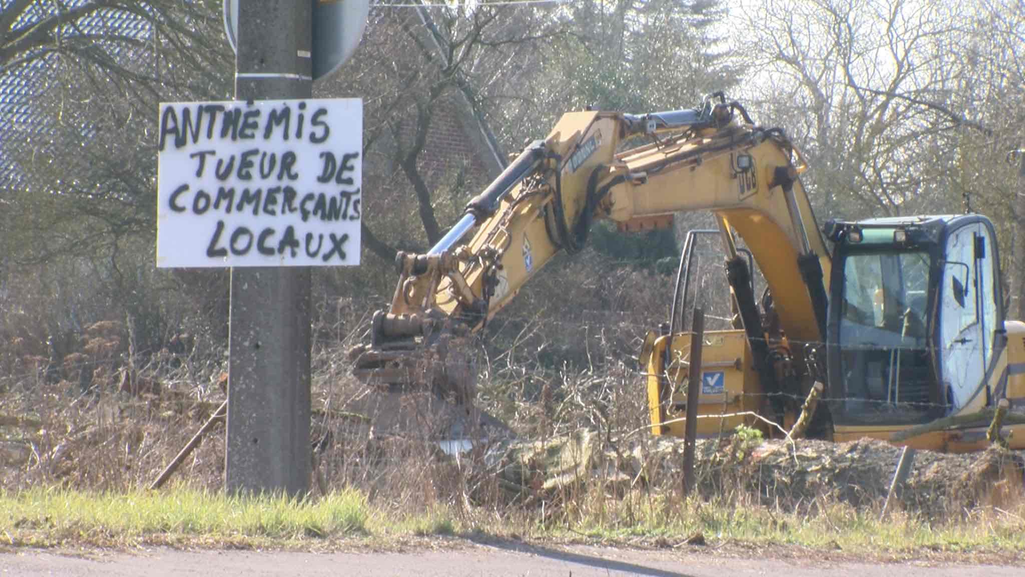Les riverains s'opposent au projet de construction d'une jardinerie Anthemis