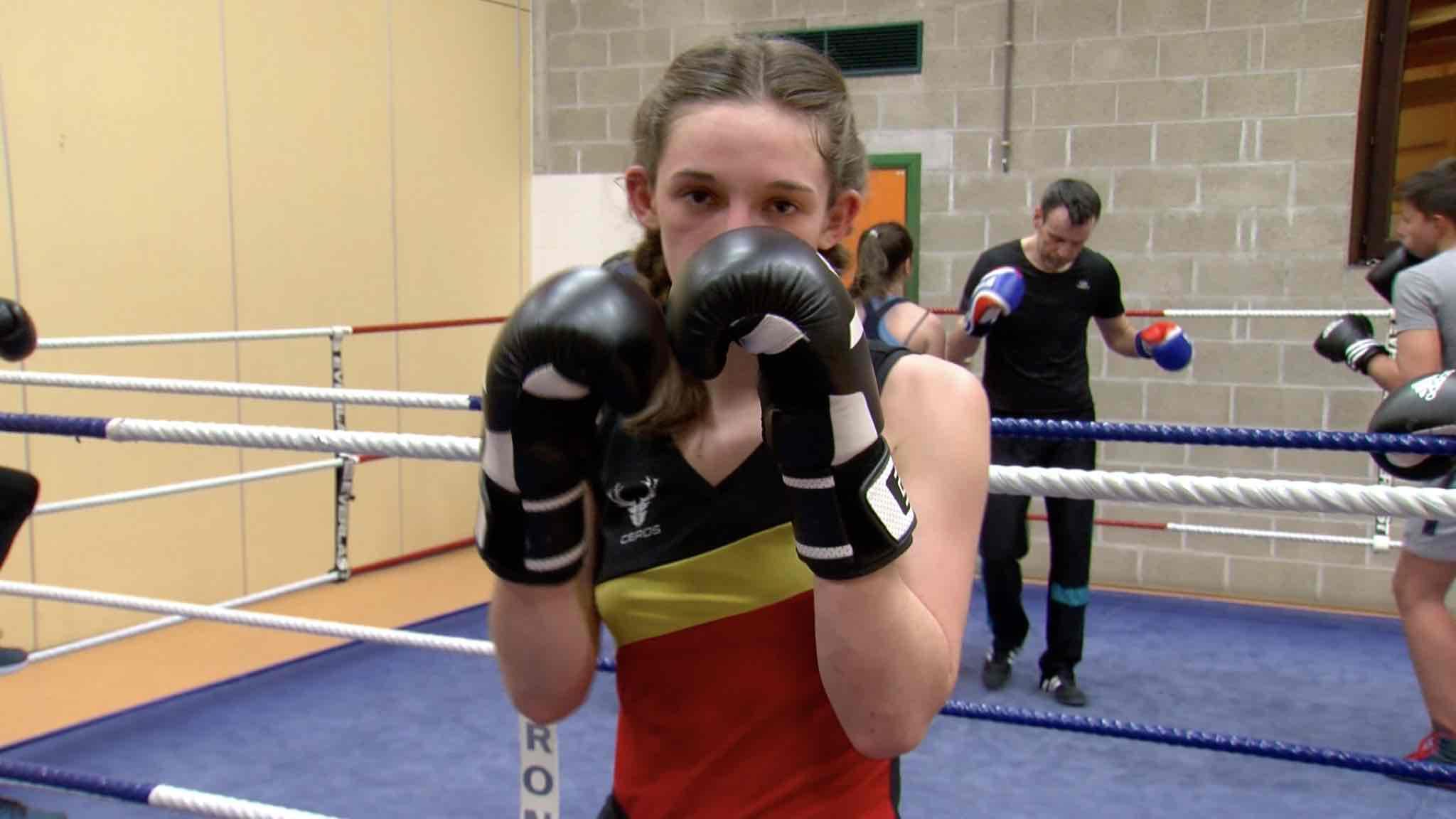 Boxe française : Morgane Dutrannoy en route vers les sommets