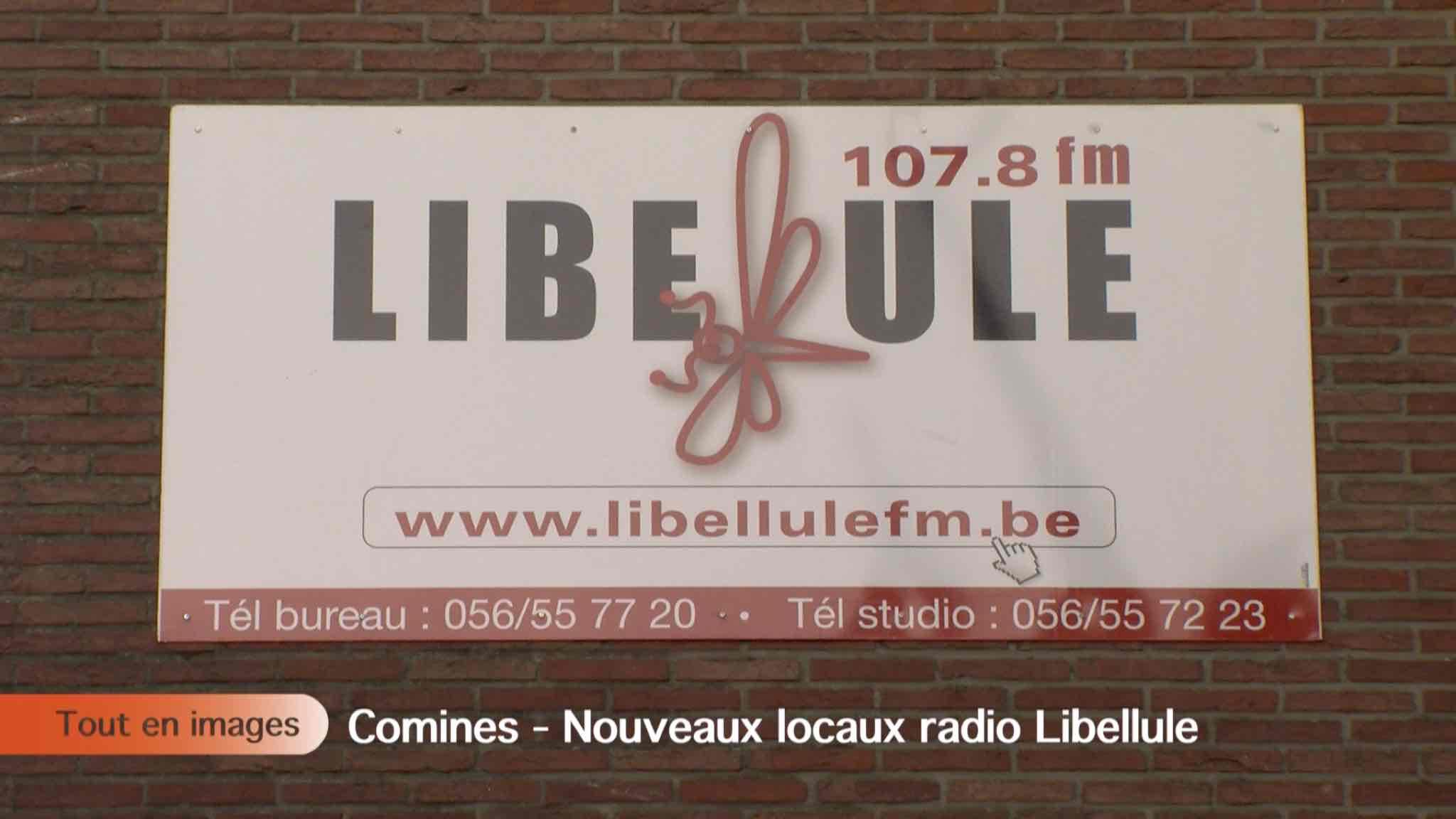 Nouveaux locaux radio Libellule
