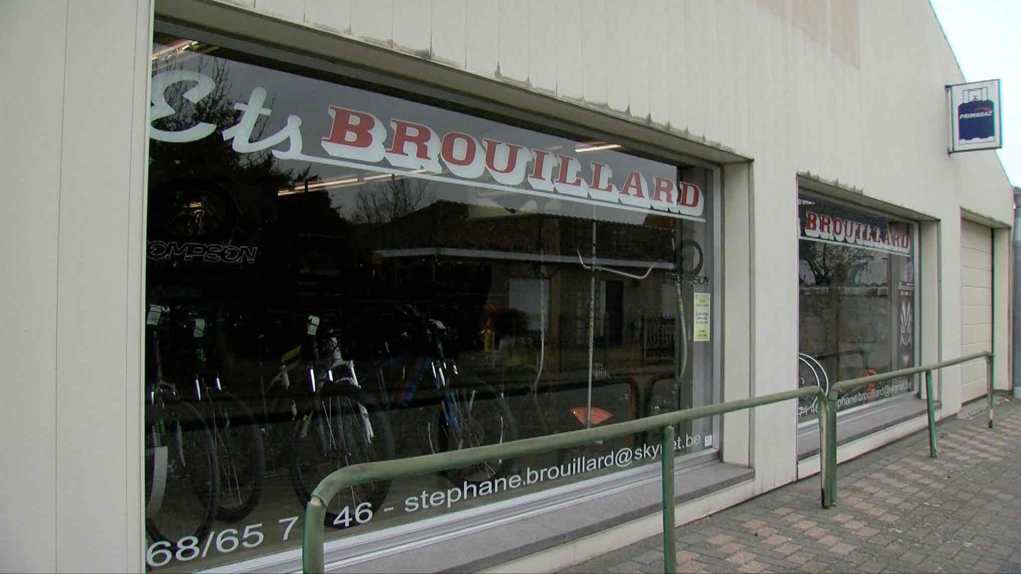 Portrait des établissements Brouillard, un magasin de vélo transmis de père en fils