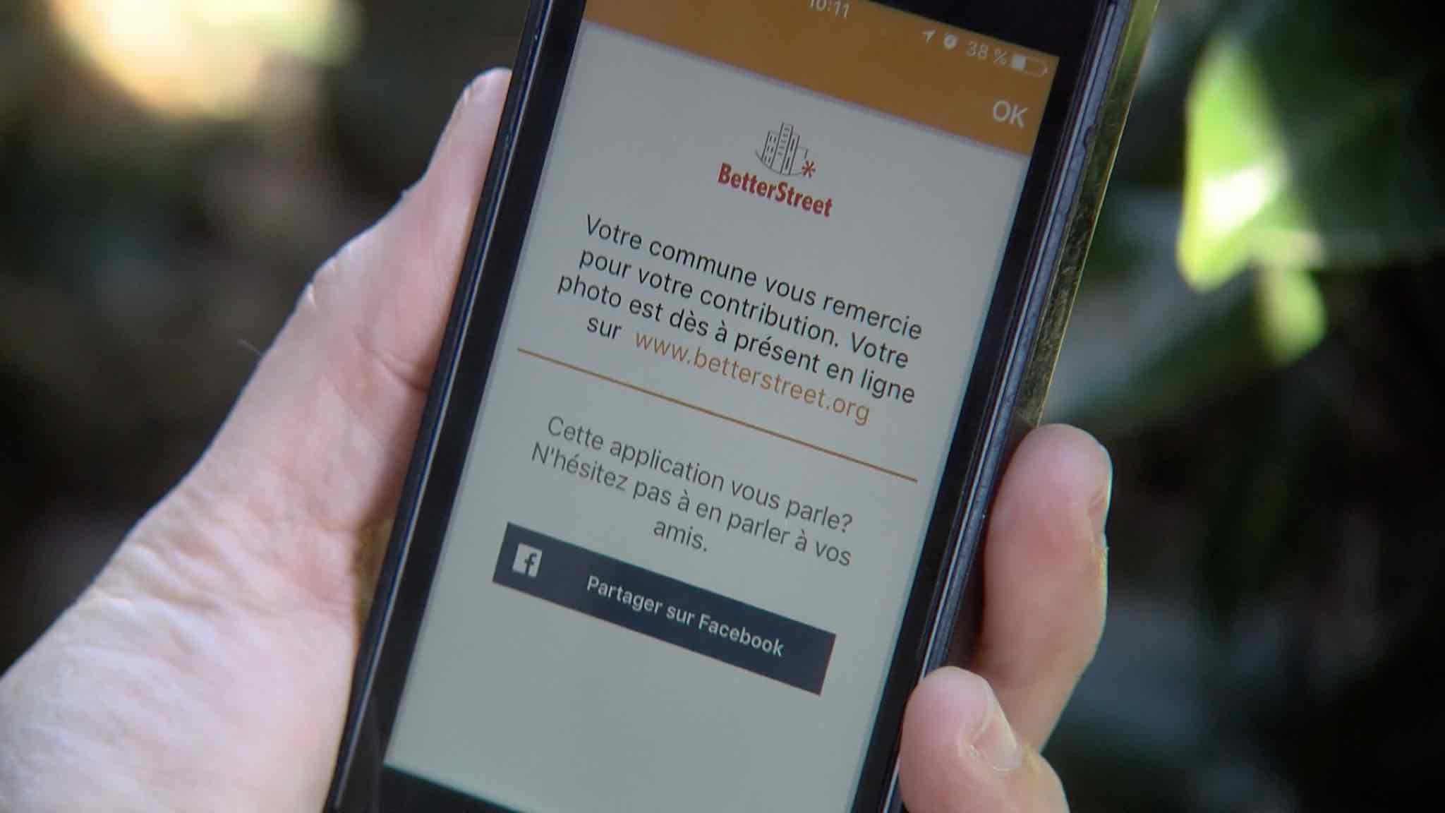Lancement de l'application Betterstreet à Estaimpuis