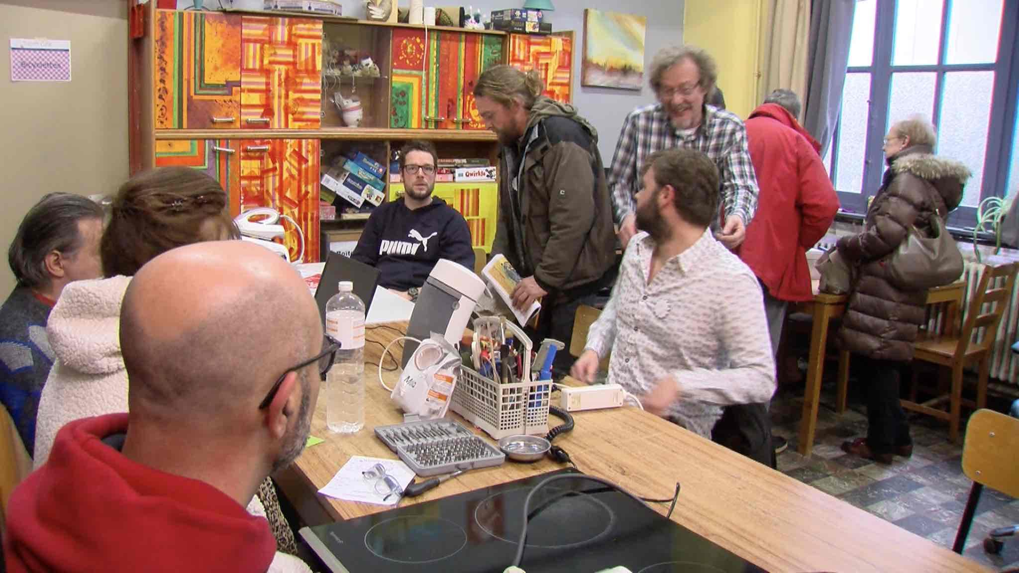Ouverture du Repair Café de Mouscron