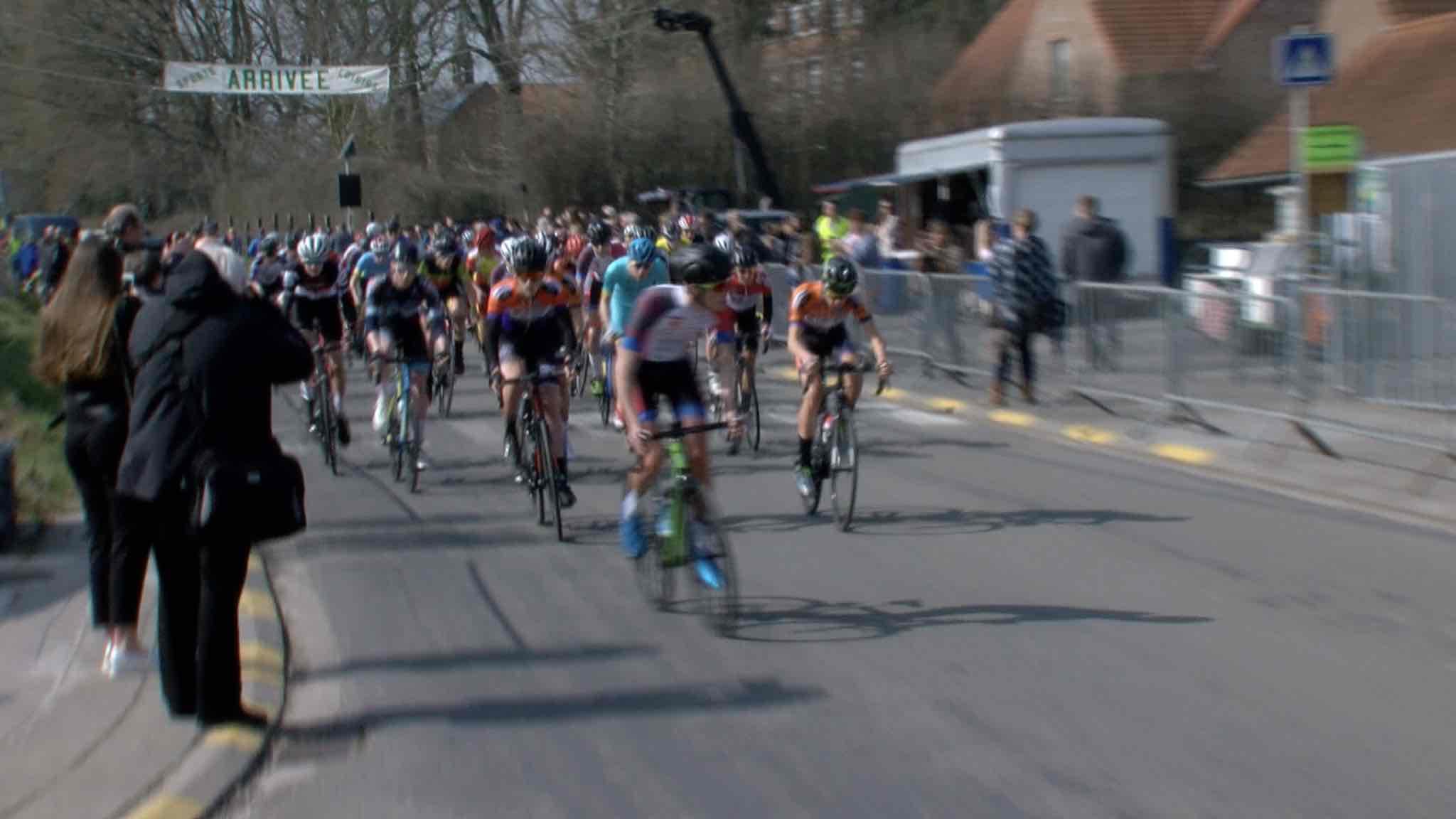 Cyclisme: Juniors à Wodecq