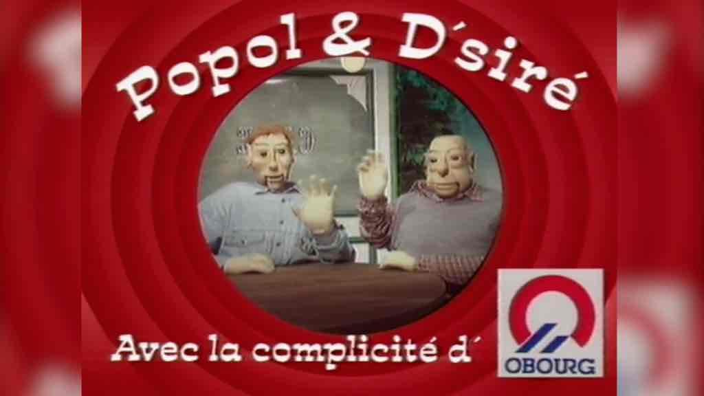 Popol et D'siré et les fêtes de Pâques en 1991