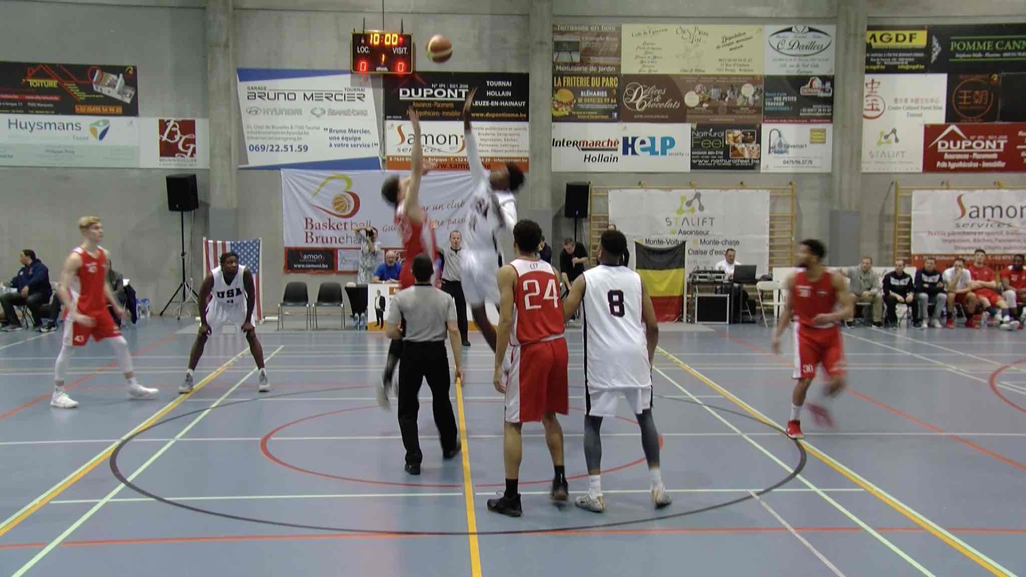 Basket-ball : la Team USA fait vibrer le Brunehall